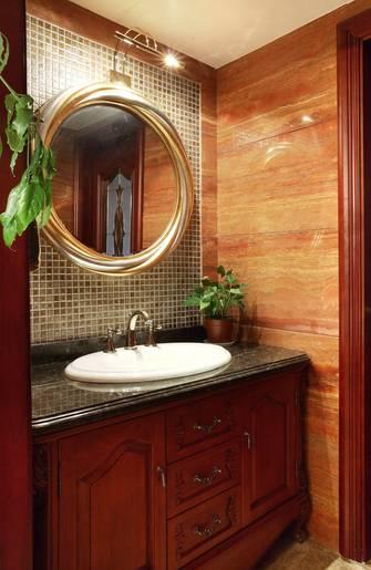 富裕型140平米四室一厅欧式风格卫生间装修效果图