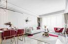90平米公寓轻奢风格客厅图片大全