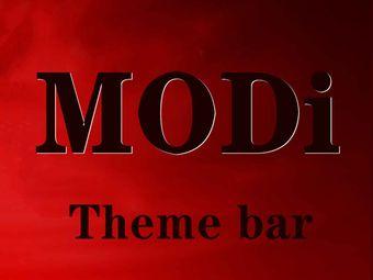 MODI Theme bar