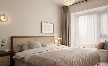 110平米三室两厅日式风格卧室欣赏图