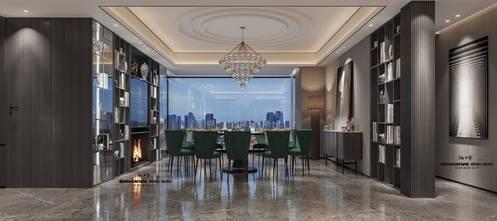 20万以上140平米四室三厅现代简约风格餐厅图
