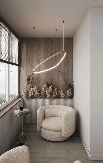 5-10万50平米一室一厅现代简约风格阳台图片大全
