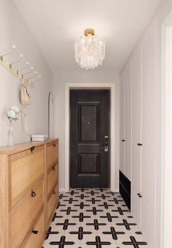 富裕型90平米三室两厅美式风格玄关图