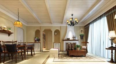 豪华型140平米复式地中海风格餐厅欣赏图