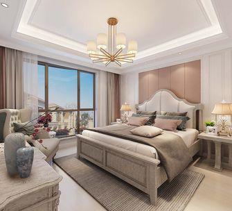 豪华型140平米三室三厅美式风格卧室装修案例