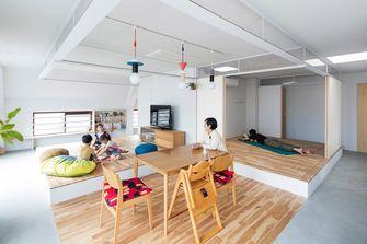富裕型100平米四室一厅日式风格餐厅效果图