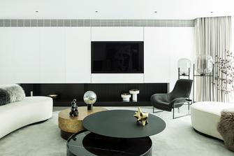 20万以上140平米轻奢风格客厅图片