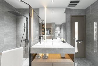 20万以上140平米四室一厅现代简约风格卫生间图片大全