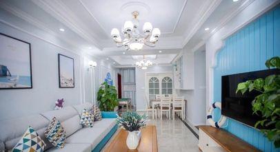 10-15万100平米三室两厅地中海风格客厅图片