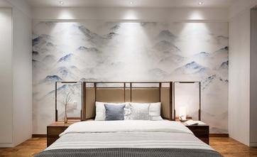 富裕型90平米中式风格卧室装修案例