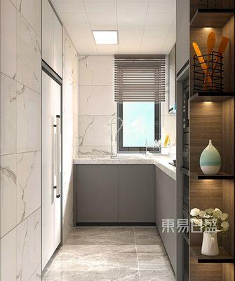110平米三美式风格厨房欣赏图