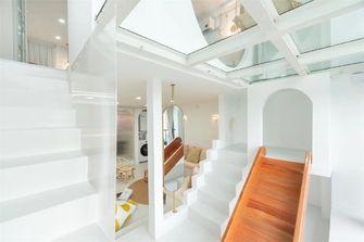 120平米复式混搭风格楼梯间欣赏图