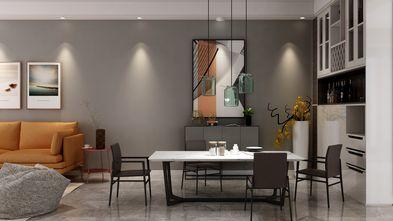 10-15万90平米三室三厅现代简约风格餐厅装修图片大全