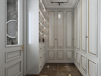 140平米四室两厅欧式风格衣帽间效果图
