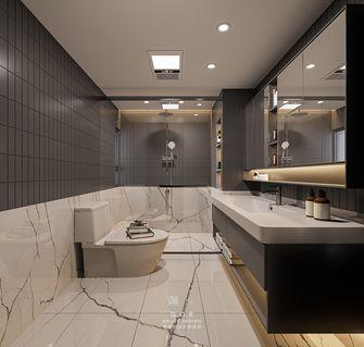 富裕型90平米现代简约风格卫生间效果图