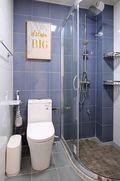 3-5万80平米公寓现代简约风格卫生间装修效果图