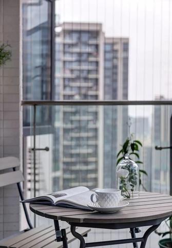 15-20万140平米四室两厅法式风格阳台欣赏图