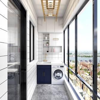 140平米三室一厅轻奢风格阳台装修案例