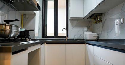 10-15万100平米三室一厅现代简约风格厨房装修图片大全