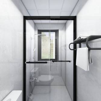 10-15万60平米三室一厅现代简约风格卫生间装修案例