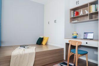 富裕型80平米三室两厅北欧风格青少年房装修效果图