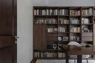 富裕型130平米三混搭风格书房图片大全