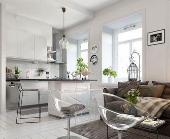 经济型60平米一居室北欧风格餐厅图片
