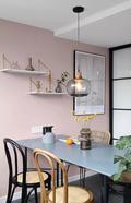 经济型70平米一室一厅北欧风格餐厅装修效果图