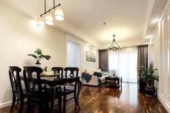豪华型120平米三室两厅美式风格餐厅图片大全