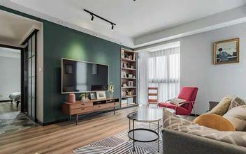 豪华型100平米英伦风格客厅图片大全