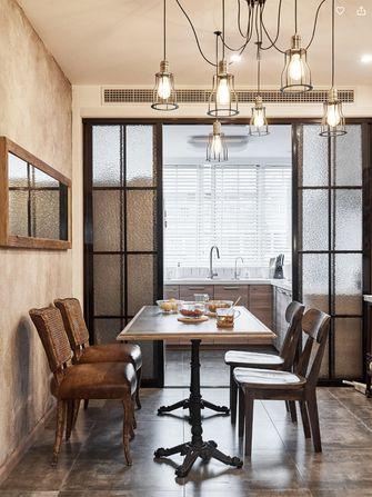 100平米复式北欧风格餐厅欣赏图