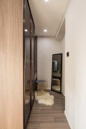 15-20万100平米三室两厅工业风风格衣帽间装修案例