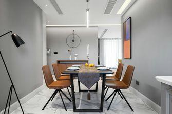 10-15万110平米三室一厅美式风格餐厅图