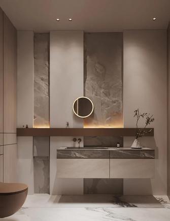 豪华型140平米复式轻奢风格卫生间图