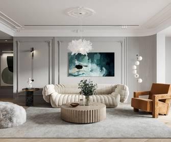 经济型110平米法式风格客厅装修案例