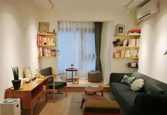 经济型60平米日式风格客厅欣赏图