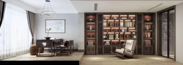 20万以上140平米别墅法式风格书房图片