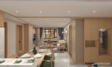富裕型90平米三日式风格客厅图