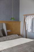 富裕型100平米三室两厅日式风格卧室装修效果图