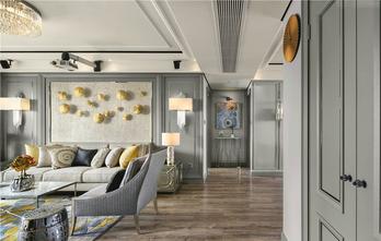 15-20万120平米三室两厅轻奢风格客厅装修图片大全