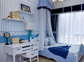 90平米一室一厅地中海风格卧室图片大全