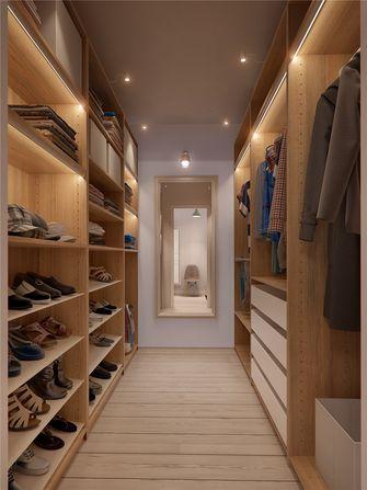 100平米公寓北欧风格衣帽间设计图