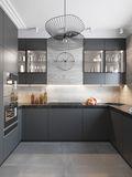 30平米以下超小户型北欧风格厨房图片大全