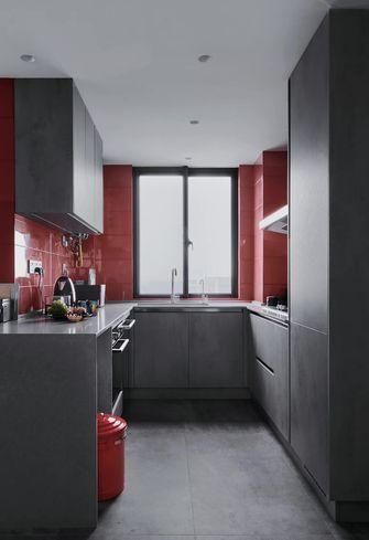 富裕型80平米现代简约风格厨房效果图