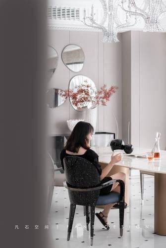 经济型140平米四室三厅现代简约风格餐厅装修案例