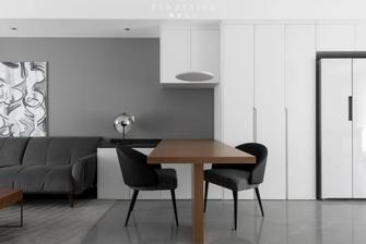 豪华型100平米三室两厅现代简约风格餐厅欣赏图
