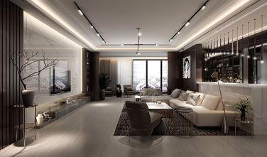 15-20万140平米三室两厅轻奢风格客厅装修图片大全
