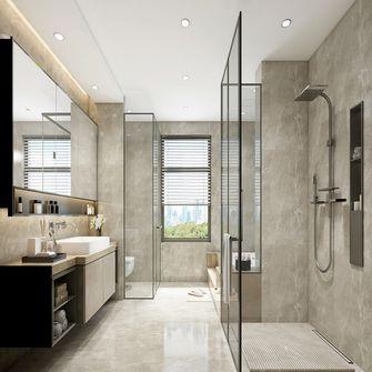 豪华型140平米复式轻奢风格卫生间图片大全
