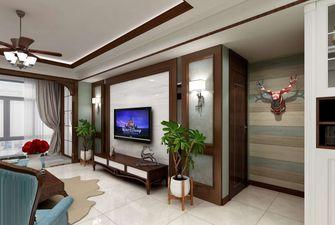 10-15万120平米四美式风格客厅装修图片大全