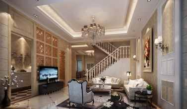 豪华型140平米四欧式风格客厅装修案例